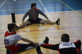 Trening z M. Michalikiem